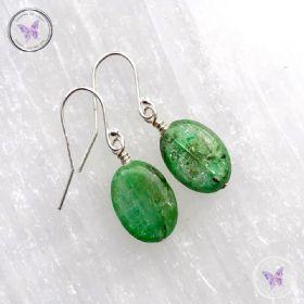 Green Kyanite Earrings